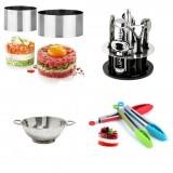 Большой выбор кухонных принадлежностей, аксессуары для кухни