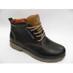 Ботинки подростковые ** Hilfiger 65 черные * 4104
