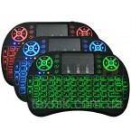 Клавиатура беспроводная мини WB-8021 с touch pad для Smart TV, Android, планшета, ноутбука, Смарт тв Keyboard