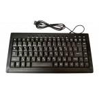 Клавиатура mini  Slim+мультимедия K 88 / 838 проводная *36661
