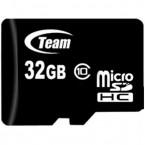 Карта памяти Team micro 32 Гб  класс 10 * 40993
