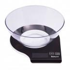 Весы кухонные с чашей Saturn ST KS 7803 Black ***