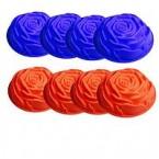 Форма для выпечки Роза 10 штук * 35727