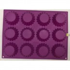 Форма для выпекания кексов силиконовая 830 - 2A - 3 * 40958