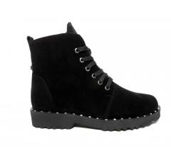 Ботинки женские Vladeks-1300 замш черные