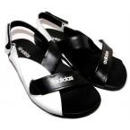 Босоножки * женские Esve-style 270 черный с белым