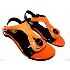 Босоножки * женские Rodos 16 оранжевый