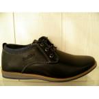 Туфли подростковые * Paliament D 5872 черный