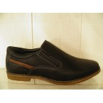 Туфли подростковые * Paliament D 5889 черный