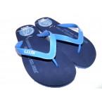 Шлепки  ** Bitis 8175-E синий, серый, коричневый