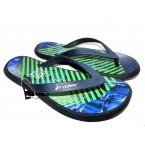 Шлепки  ** Rider 82364-24231 голуб/зелен/бел.