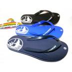 Шлепки  ** Super Gear 1268 синий, серый,черный