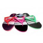 Шлепки Bitis 8118 E зеленый,розовый, фиолетовый