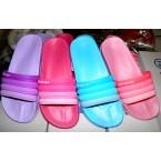 Шлепки * Jiajiale 7158-11A голубой,пудра,розовый,фиолетовый * 19988