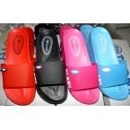 Шлепки * Qiren 226-1 розовый,красный,черный,голубой * 19971