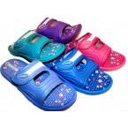 Шлепки  * Sidney 520 голубой, розовый,фиолетовый,бирюзовый,синий