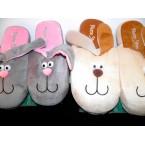 Тапочки женские * Home Story 71504 зайцы с длинными ушами