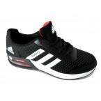 Кроссовки * Adidas -galaxy 9390-5 черный