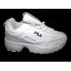 Кроссовки * подростковые Fila T 071-1 белый