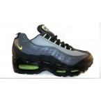 Кроссовки * Nike 7381-2 черн/сер/зелен *17502