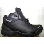 Кроссовки зимние ** Adidas 818-3 черный