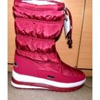 Ботинки подростковые ** Arctika 1750-4 бордовый