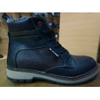 Ботинки подростковые** Hilfiger T -5  черный * 16409