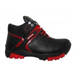 Ботинки подростковые * Zangak 122 черный с красным