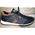 Туфли * мужские STEP WEY 1930 черный с коричневым