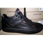 Туфли * мужские Tommy Hilfiger Н-3 черный *17976
