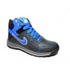 Ботинки подростковые * Nike 30 синий
