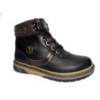 Ботинки подростковые ** Zangak  119 черный