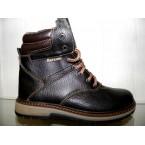 Ботинки подростковые Barzoni 510 коричневый