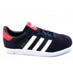 Кроссовки * подростковые Adidas gazell 3009-7 синий