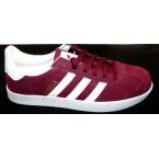 Кроссовки * подростковые Adidas gazell 3009-6 бордовый