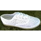 Mокасины * Hit Shoes H 17-4057 белый
