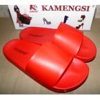 Шлепки * Kamengsi 145-3 красный * 20640