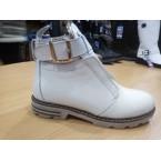 Ботинки женские ** Weles 1840-2 белый зимние