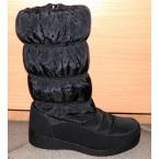 Ботинки женские ** Gogc 9853-1 черный зимние