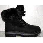 Ботинки подростковые ** Ideal 1130 черный