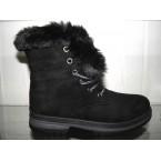 Ботинки женские ** Ideal 1133 черный зимние