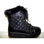 Ботинки подростковые ** Ideal K 1153 черный