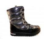 Ботинки подростковые ** Ideal K 1166 черный