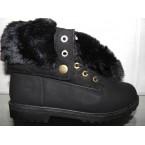Ботинки подростковые ** Ideal Н 58 черный