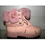 Ботинки женские ** Ideal Н 60 розовый зимние