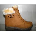 Ботинки женские ** KDSL 2115-7 рыжий зимние