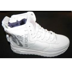 Ботинки подросковые Nike 1060-5 белый