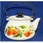 Чайник .. эмалированный Керчь 2 литра Персик