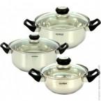 Набор посуды Rotex RC011-6S Bergamo ***