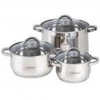 Набор посуды Maestro MR 2120-6 L / M